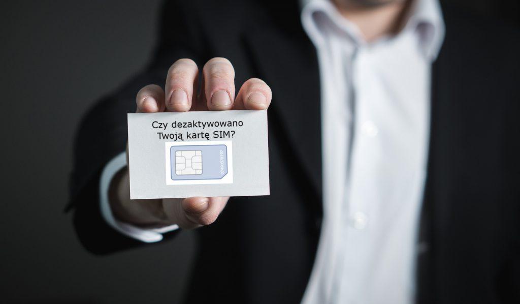 12 milionow kart SIM dezaktywowanych
